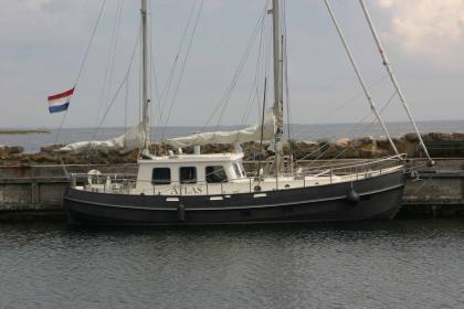 Motorsailer Noordkaper Danish Rose 39